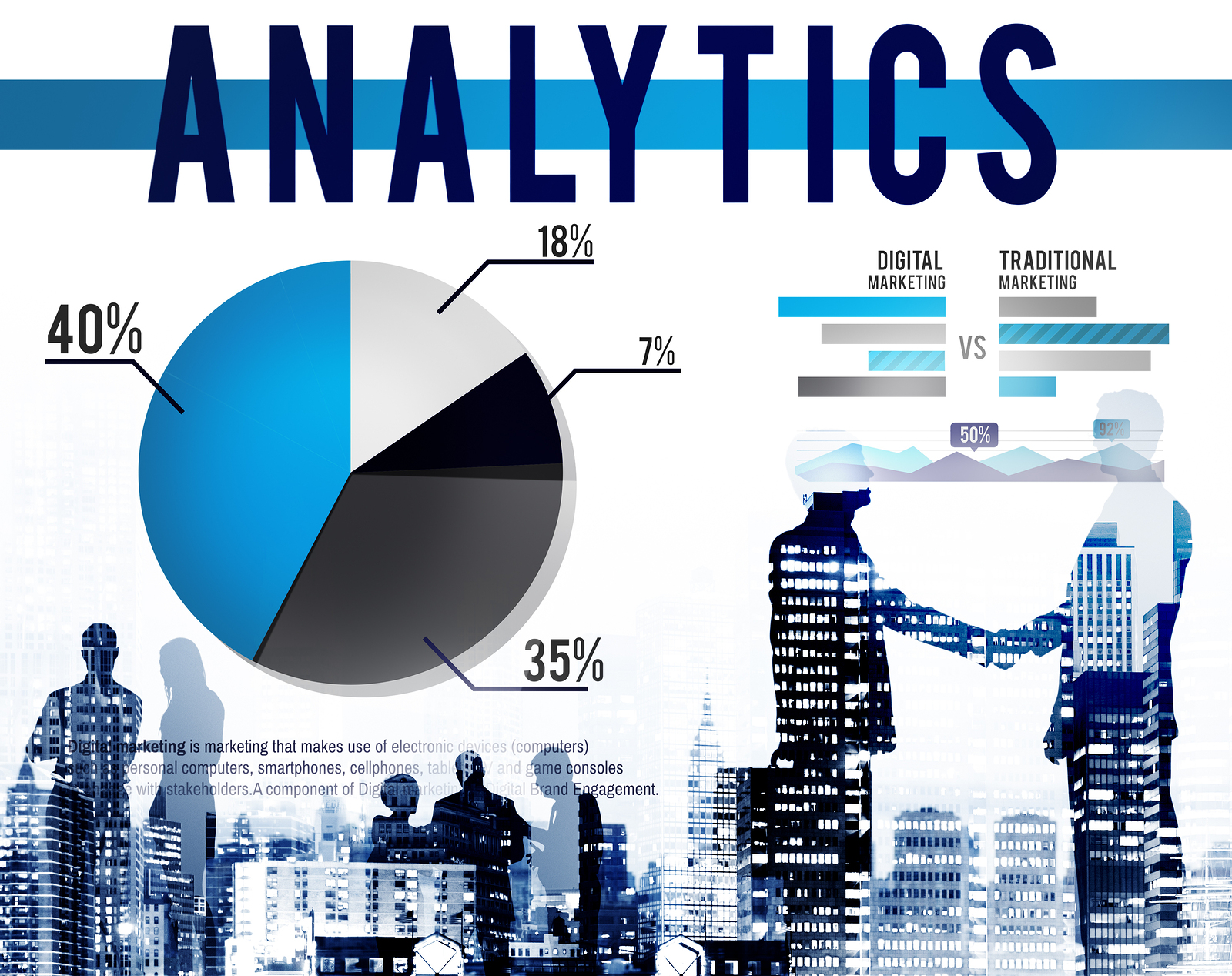 Analytics Analysis Statistics Marketing Data Concept